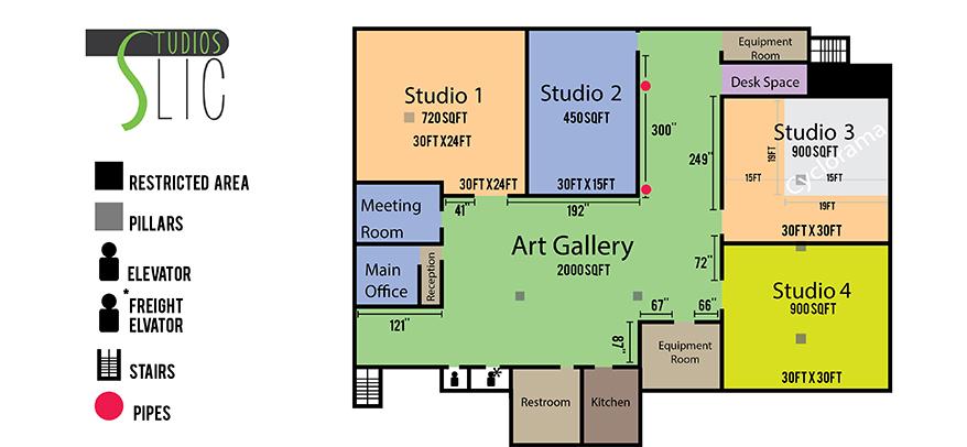 Studio 1 + 2